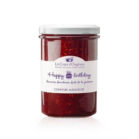 Happy Birthday - Confiture Cour d'Orgères