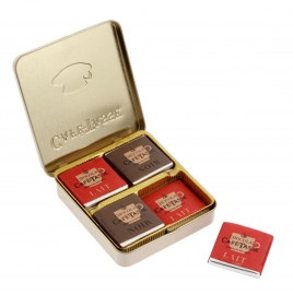 Pocket box  de 12  napolitains - CAFE TASSE